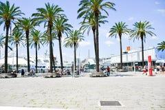 Il porto a Genova, Italia fotografia stock