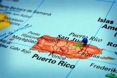 Il Porto Rico fotografia stock libera da diritti