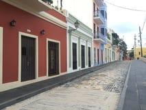 Il Porto Rico vecchio San Juan fotografie stock libere da diritti
