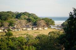Il porto St Johns alloggia la sistemazione La Sudafrica Fotografie Stock Libere da Diritti