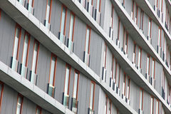 Il Portogallo. Alta costruzione di appartamento Fotografie Stock