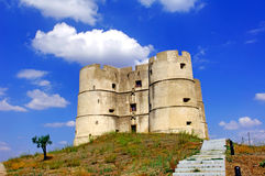 Il Portogallo, Evoramonte: Castello di convenzione Immagine Stock Libera da Diritti