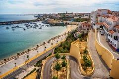 Il Portogallo: la vecchia città dei seni fotografie stock