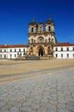 Il Portogallo, monastero di Alcobaca Fotografie Stock