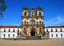 Il Portogallo, monastero di Alcobaca Immagini Stock Libere da Diritti