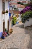 Il Portogallo, Obidos Fotografie Stock