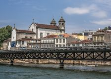 Il Portogallo, Oporto Chiesa della fratellanza delle anima sante e dei corpi fotografie stock