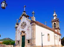 Il Portogallo, Ponte de Lima: Chiesa di San Antonio Immagine Stock Libera da Diritti