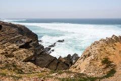 Il Portogallo, Praia fa Guincho fotografia stock