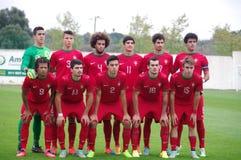 Il Portogallo Under-19 Fotografia Stock