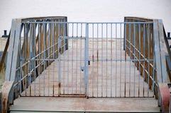 Il portone del ferro Fotografia Stock Libera da Diritti