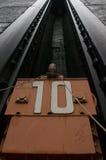Il portone del ferro della serratura Fotografia Stock Libera da Diritti