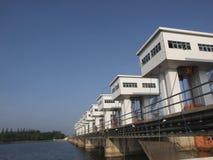 Il portone di acqua in Tailandia del sud immagine stock