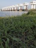 Il portone di acqua in Tailandia del sud immagini stock libere da diritti
