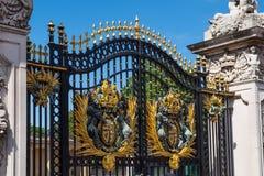 Il portone di Buckingham Palace Fotografie Stock