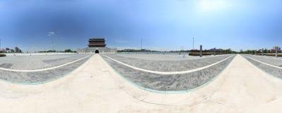 Il portone di Yongding Fotografia Stock