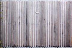 Il portone struttura il fondo Fotografie Stock