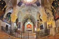Il posto adatto semicircolare - l'altare Immagini Stock
