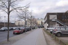 Il posto in cui era il bunker del ` s di Hitler immagini stock