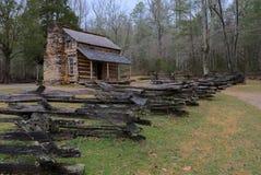 Il posto di John Oliver in montagne fumose fotografie stock libere da diritti