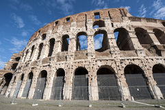 Il posto famoso di Colosseum Fotografia Stock