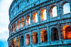 Il posto famoso di Colosseum Immagine Stock Libera da Diritti