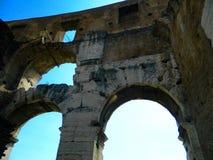 Il posto famoso di Colosseum Immagini Stock Libere da Diritti