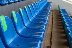 Il posto vuoto di stadio di football americano Fotografie Stock