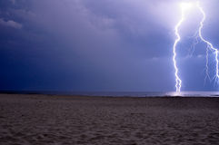 Il potere del cielo Fotografie Stock