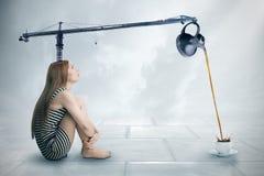 Il potere del concetto di intelletto Fotografia Stock