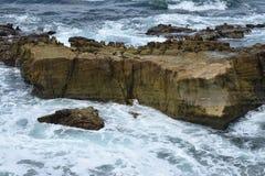 Il potere dell'oceano Pacifico Fotografia Stock Libera da Diritti