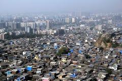 Il povero ricco vive insieme Fotografie Stock Libere da Diritti