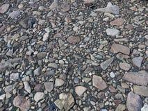Il pozzo ha viaggiato traccia nella Patagonia immagine stock