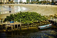 Il Praia fa Centro Fotografie Stock Libere da Diritti