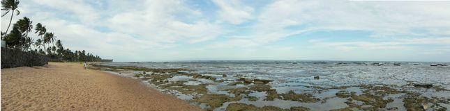 Il Praia fa il Forte Fotografie Stock