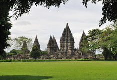 Il Prambanan Fotografie Stock Libere da Diritti