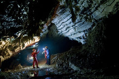 Il predicatore della caverna Immagini Stock Libere da Diritti