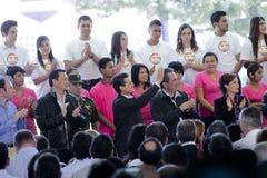 Il Presidente del Messico, Enrique Peña Nieto Fotografie Stock