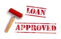 Il prestito ha approvato illustrazione vettoriale