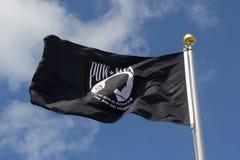 Il PRIGIONIERO DI GUERRA MIA Flag fotografie stock libere da diritti