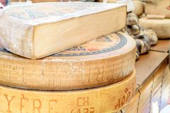 Il primo festival del formaggio in Sitges immagine stock libera da diritti