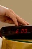 Il primo mattino sveglia Fotografia Stock Libera da Diritti