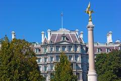 Il primo monumento di divisione, Washington DC Fotografia Stock Libera da Diritti