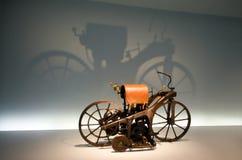 Il primo motobike, pionieri dell'auto Fotografie Stock