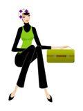 Primo piano della donna royalty illustrazione gratis