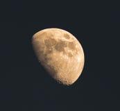 Il primo piano della luna Immagine Stock