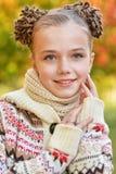 il primo piano eyes la ragazza poco ritratto abbastanza Fotografia Stock Libera da Diritti