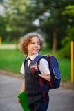 Il primo selezionatore va a scuola Fotografia Stock