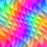 Il prisma quadra il reticolo illustrazione vettoriale