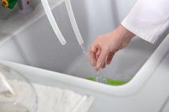Il prodotto chimico pulisce Fotografie Stock